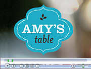 Amy's Table interviews Candace Corey about beauty tips