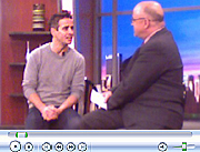 Joey McIntyre of New Kids On The Block TV appearance